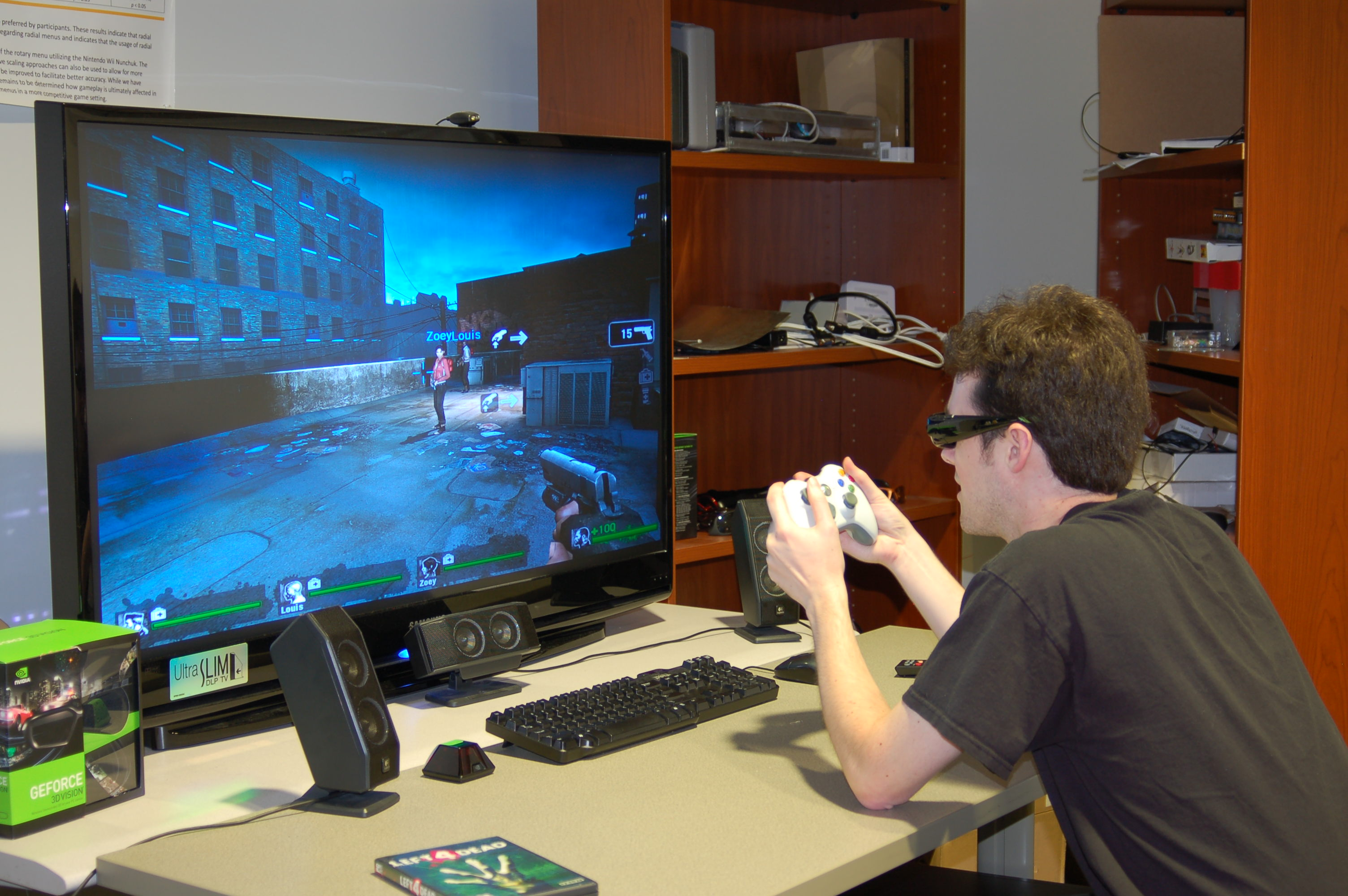 Stereoscopic 3d Gaming Computer: Interactive Computing Experiences Research Cluster
